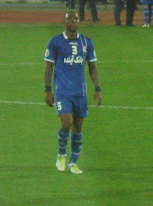 Jlloyd Samuel - Samuel playing for Esteghlal, AFC Champions League match against Al-Ain