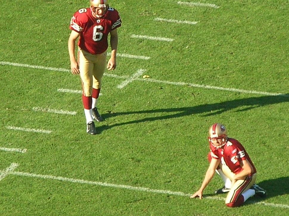 Joe Nedney kicks PAT at Rams at 49ers 11-16-08