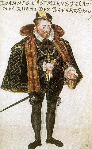 John Casimir of the Palatinate-Simmern - Image: Johann Casimir aus Thesaurus Pictuarum