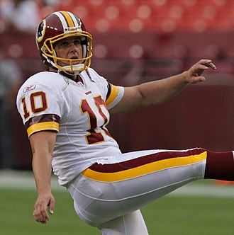 John Hall (placekicker) - Hall during his tenure with the Redskins.
