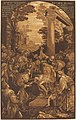 John Baptist Jackson after Leandro Bassano, The Raising of Lazarus, 1742, NGA 33100.jpg
