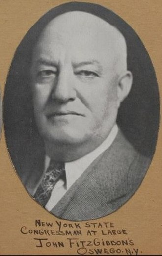 New York's at-large congressional seat - Image: John Fitzgibbons (New York Congressman)