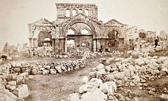 John Henry Haynes. Facade of Christian church at Kala, Northern Syria (id.13993453).jpg