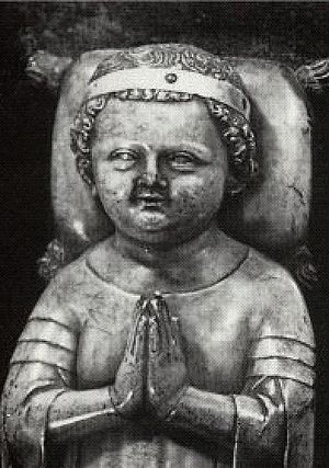 John I of France - Tomb Effigy of John the Posthumous