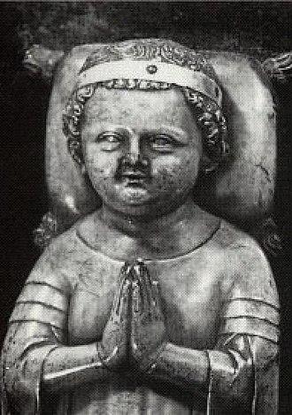 John I of France - Tomb effigy of John the Posthumous