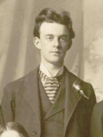 John J. McClellan - McClellan while teaching music at LDS College
