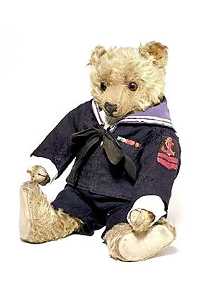 J. K. Farnell - Teddy bear manufactured by the London-based firm of J. K. Farnell