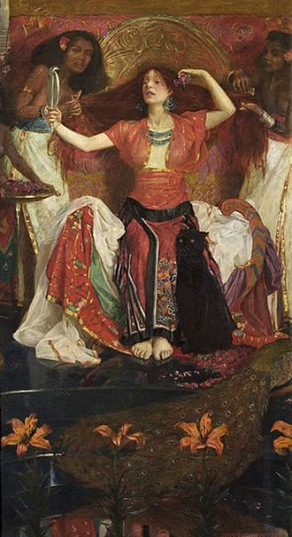 Jezebel - 19th-century painting by John Liston Byam Shaw