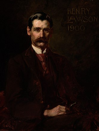 Henry Lawson - Portrait of Lawson by John Longstaff, 1900, Art Gallery of New South Wales