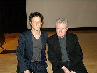 Robert Polito - Novelist John Reed and Polito at the National Book Critics Circle awards in 2012