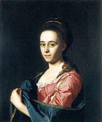 Portrait of Mrs Joshua Henshaw II (Catherine Hill)