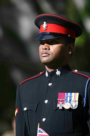 Johnson Beharry - Lance Corporal Johnson Beharry in July 2007