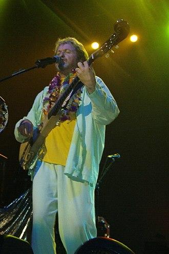 Jon Anderson - Anderson performing in 2003.