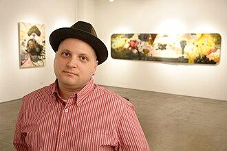 Jonathan LeVine - LeVine at Jonathan LeVine Gallery in 2008.