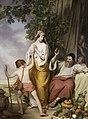 Josef Danhauser - Abraham verstößt Hagar und Ismael - 2553 - Kunsthistorisches Museum.jpg
