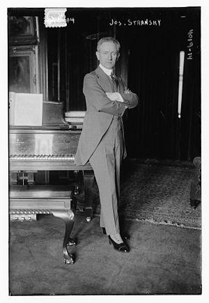 Josef Stránský - Stránský in 1916