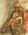 JulesPascin-1928-Woman from Martinique with Turban.png