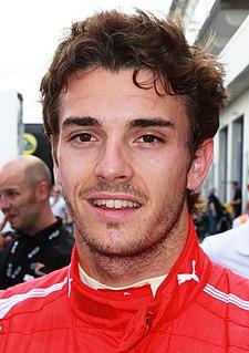 Jules Bianchi French motor racing driver