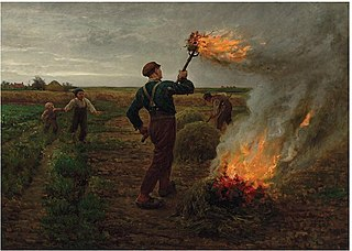 Burning Tares in a Wheatfield