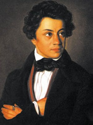 Julius Mosen - Julius Mosen, depiction by an unknown artist