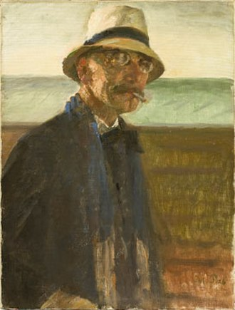 Julius Paulsen - Julius Paulsen, self-portrait