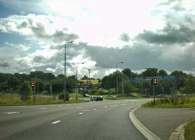 Junction 26, M62 - geograph.org.uk - 1434131