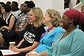 Justine Greening, Baroness Northover and Precious Simba at -YouthForChange (14503887767).jpg