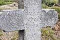 Kříž u cesty Nepomuk - Bor, detail.jpg