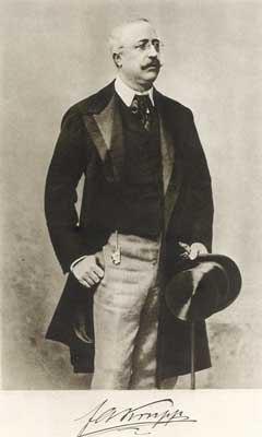 KRUPP, FRIEDRICH ALFRED (1854-1902) nel 1900