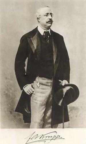 Friedrich Alfred Krupp - Friedrich Alfred Krupp, 1900.