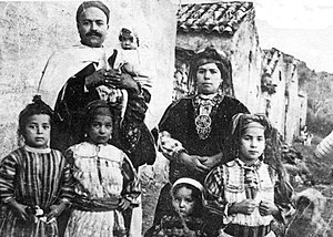 Kabyle people - Christian family from Kabylia.