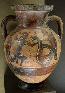 regional style of ancient greek vase painting