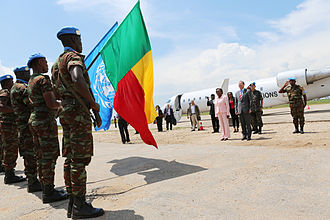 Benin Armed Forces - Troops from Benin as part of the United Nations MONUSCO mission in the DR Congo, 2000