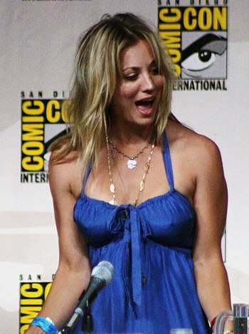 English: Kaley Cuoco