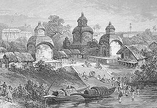 Adi Ganga river in India