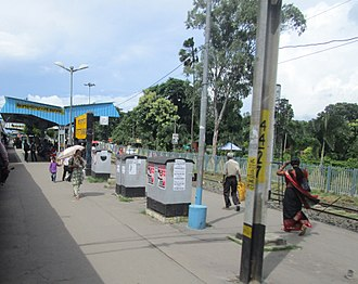 Kanchrapara - Kanchrapara railway station