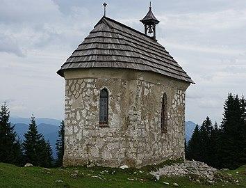 Kapelle Maria Schnee, Rückseite, Feistritz an der Gail.jpg