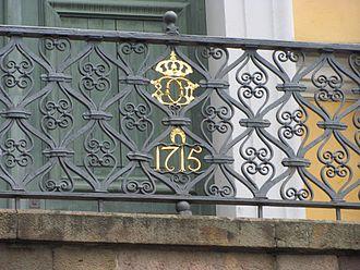 Katarina Church - Image: Karl XI Is Stair Seal and Date