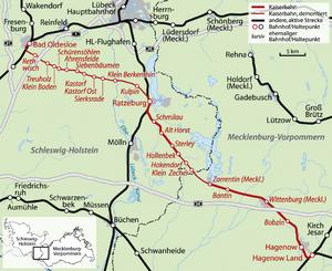 Hagenow LandBad Oldesloe railway Wikipedia