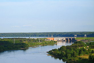 Kaunas Reservoir - Hydroelectric power plant