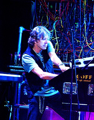Electronics in rock music - Keith Emerson performing in St. Petersburg in 2008