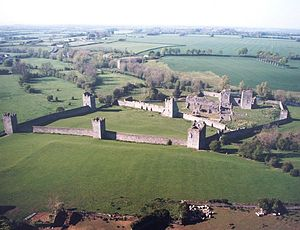Kells Priory - Kells Priory from above