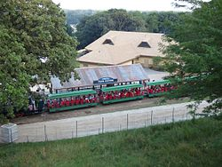 Kenefick Train Station at Omaha Zoo.JPG