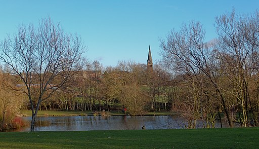 Kenning Park Lake , Claycross (6715641149)