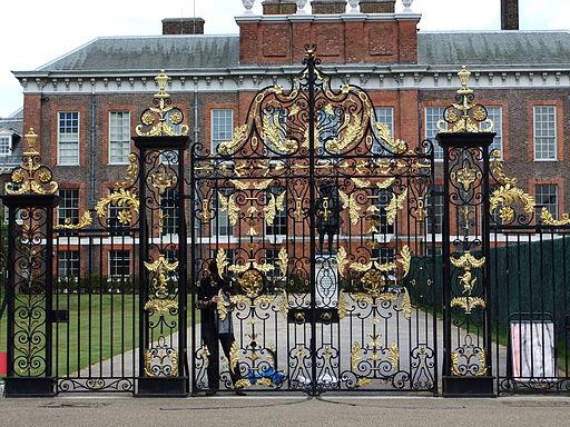 Kensington Palace gates - DSCF0297