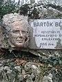 Keszthely Balaton part - Bartók Béla - Túri Török Tibor alkotása.jpg