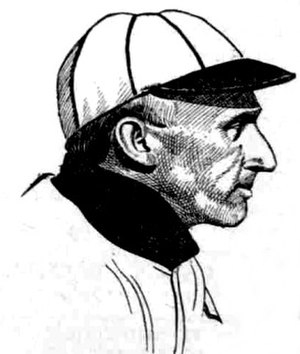 Kid Mohler - A drawing of Mohler from 1909 by Harry Murphy.