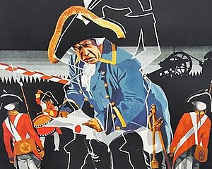 Lieutenant Kijé (Prokofiev) - From the film advertising poster, by Izrail Bograd