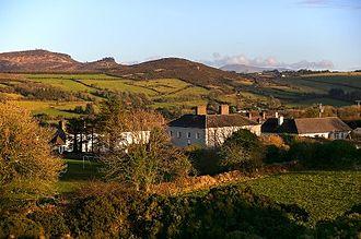 Kilfinane - View from the Moat, Kilfinane