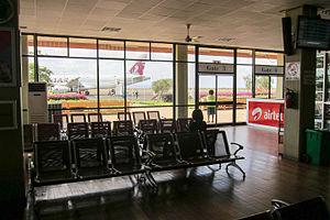 Kilimanjaro International Airport - Boarding gate area